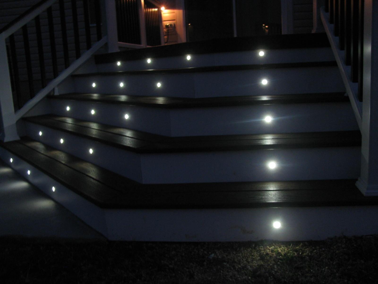 Led Light Design: Led Deck Light Low Voltage Home Depot Deck Throughout Low Voltage Deck Lighting At Home Depot (#6 of 15)
