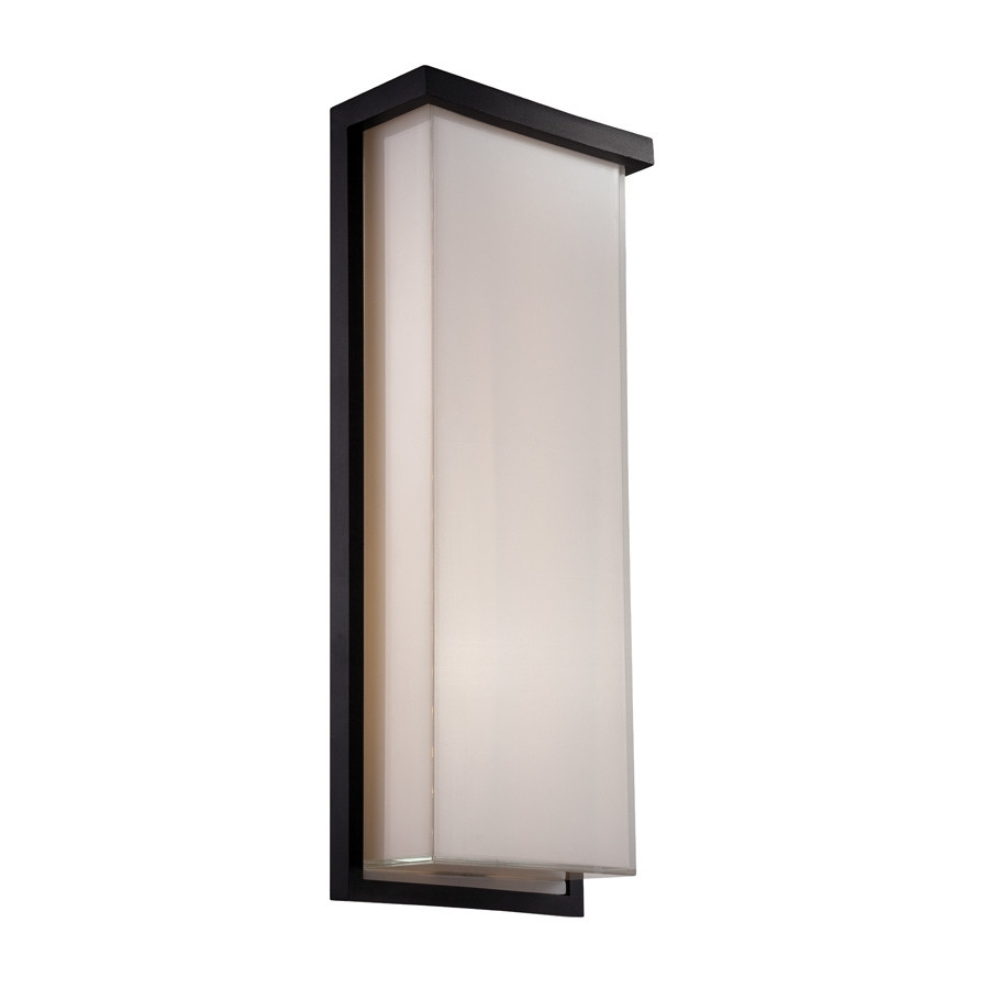 Led Outdoor Wall Lighting Lowes – Dayri Intended For Contemporary Outdoor Wall Lighting Sconces (#9 of 15)