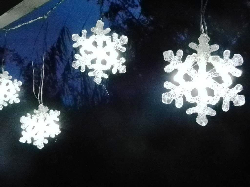 Led Snowflake Lights Outdoor Ideas : Furniture Decor Trend – Home Inside Outdoor Hanging Snowflake Lights (#11 of 15)