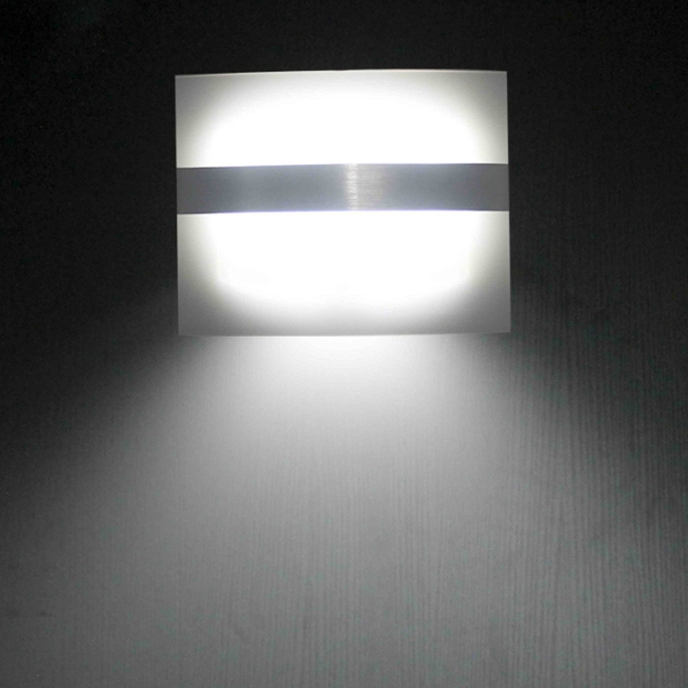 Led Wall Light Motion Sensor Light Indoor/outdoor Led Wall Light For With Outdoor Led Wall Lighting (#8 of 15)
