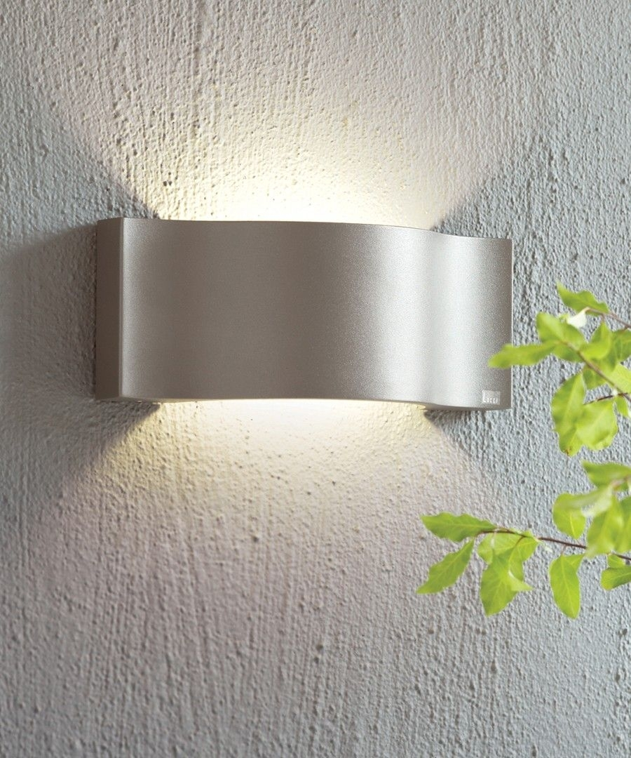 Ledlux Kast Ip54 Up/down Wall Bracket In Charcoal | Project – Stone Regarding Beacon Lighting Outdoor Wall Lights (#4 of 15)
