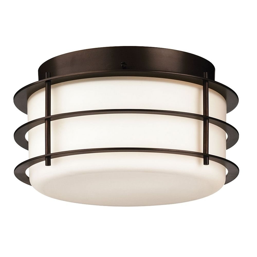Light : Antique Drum Outdoor Ceiling Lights For Porch Beautiful With Outdoor Ceiling Flush Lights (#4 of 15)