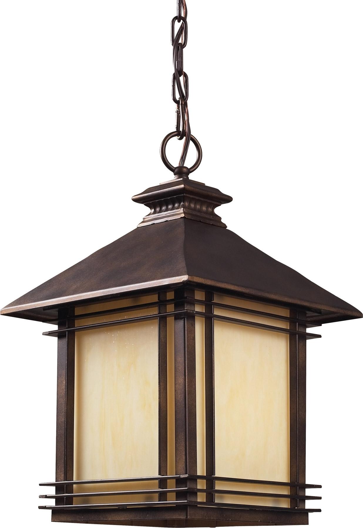 Lighting 42103/1 Blackwell Outdoor Hanging Lantern In Hanging Outdoor Lights (#11 of 15)
