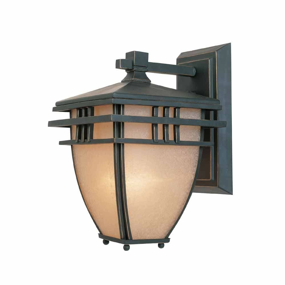 Lighting Art Deco Wall Sconces Outdoor Sconce Lighting Outdoor Light For Modern Outdoor Light Fixtures At Home Depot (#11 of 15)