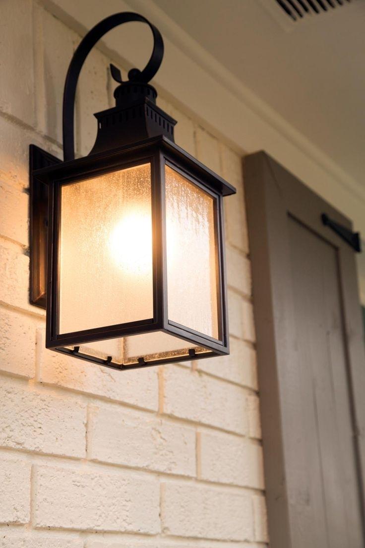 Lighting : Best Front Porch Lights Ideas On Pinterest Garden Outdoor Throughout Garden Outdoor Wall Lights (#12 of 15)