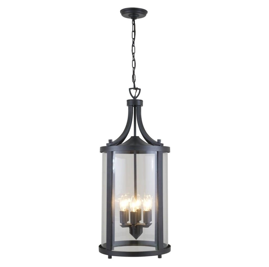 Lighting: Best Modern Industrial 3 Candle Style Lights Outdoor With Modern Outdoor Pendant Cylinder Lighting Fixtures (#8 of 15)