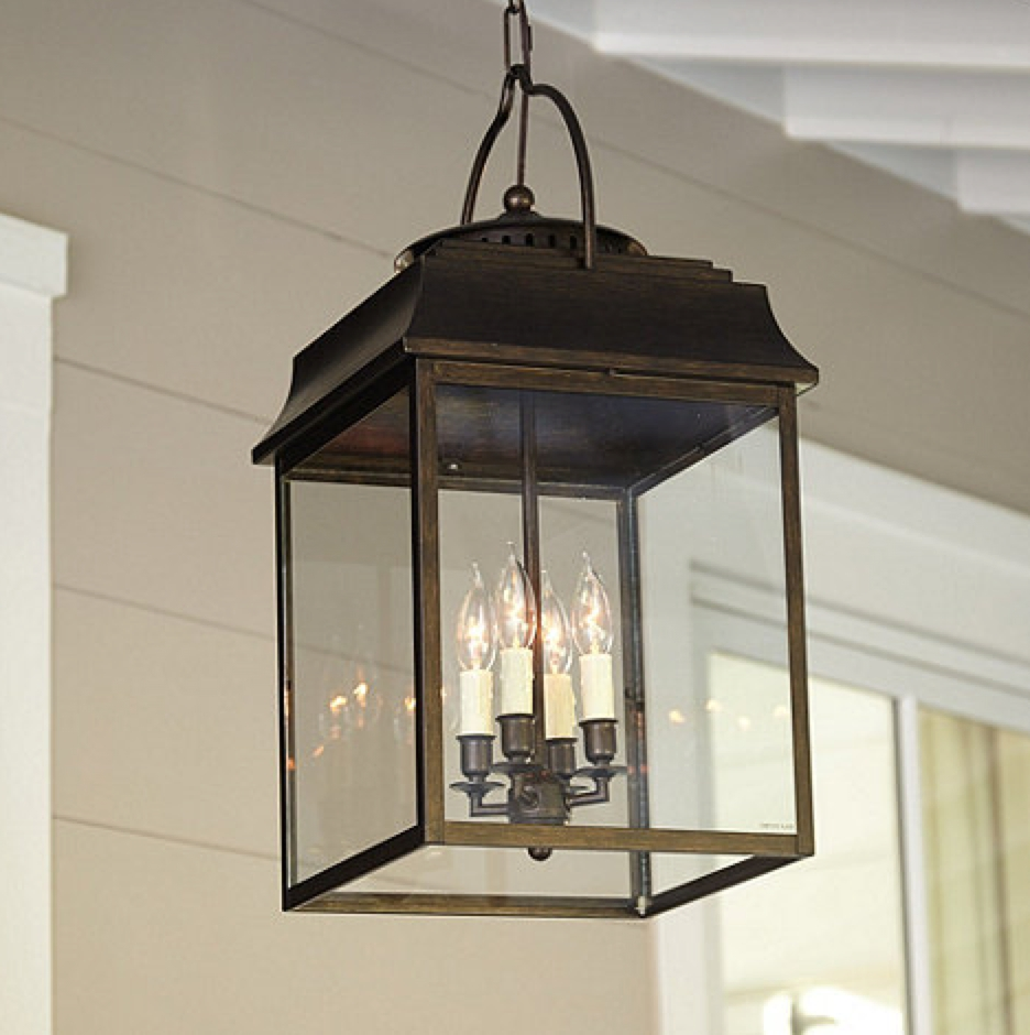Lighting Changes Front Porch Light Options Megan Brooke Handmade Within Outdoor Ceiling Lights For Porch (#4 of 15)