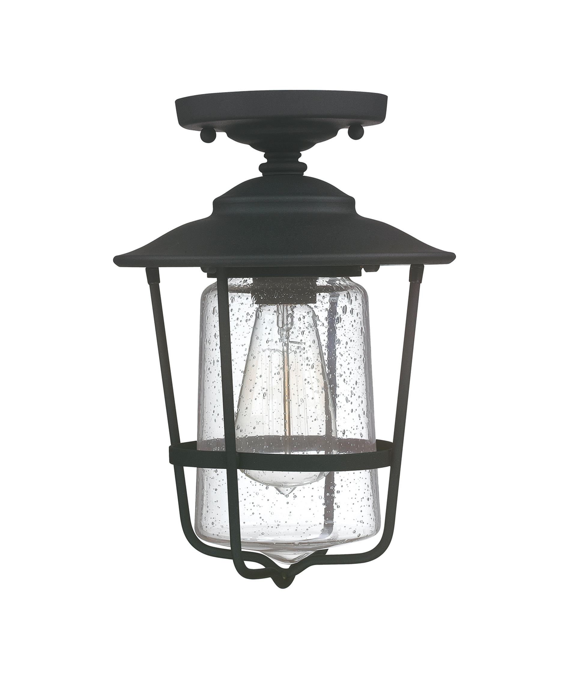 Lighting Design Ideas: Hanging Porch Flush Mount Outdoor Light Pertaining To Outdoor Ceiling Mount Porch Lights (#6 of 15)