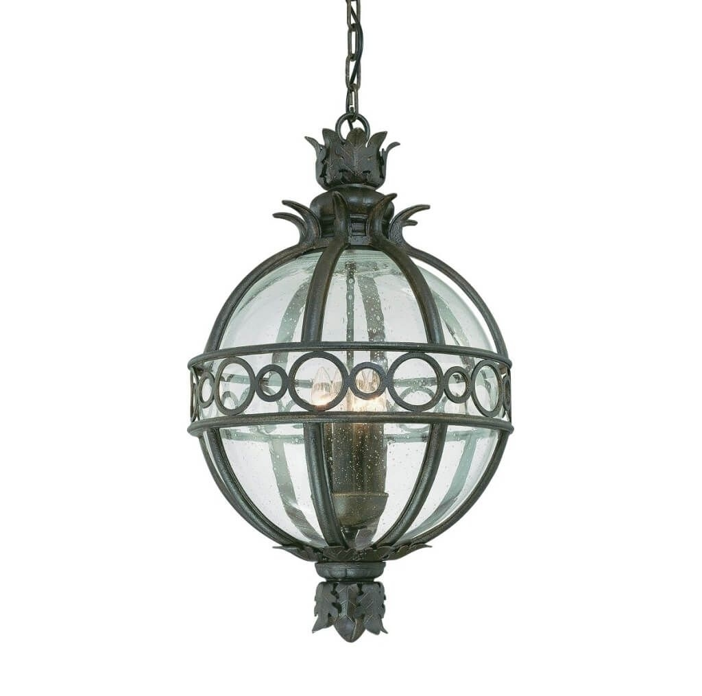 Lighting: Distinctive Globe Outdoor Pendant Light Design – The Intended For Inexpensive Outdoor Hanging Lights (View 10 of 15)