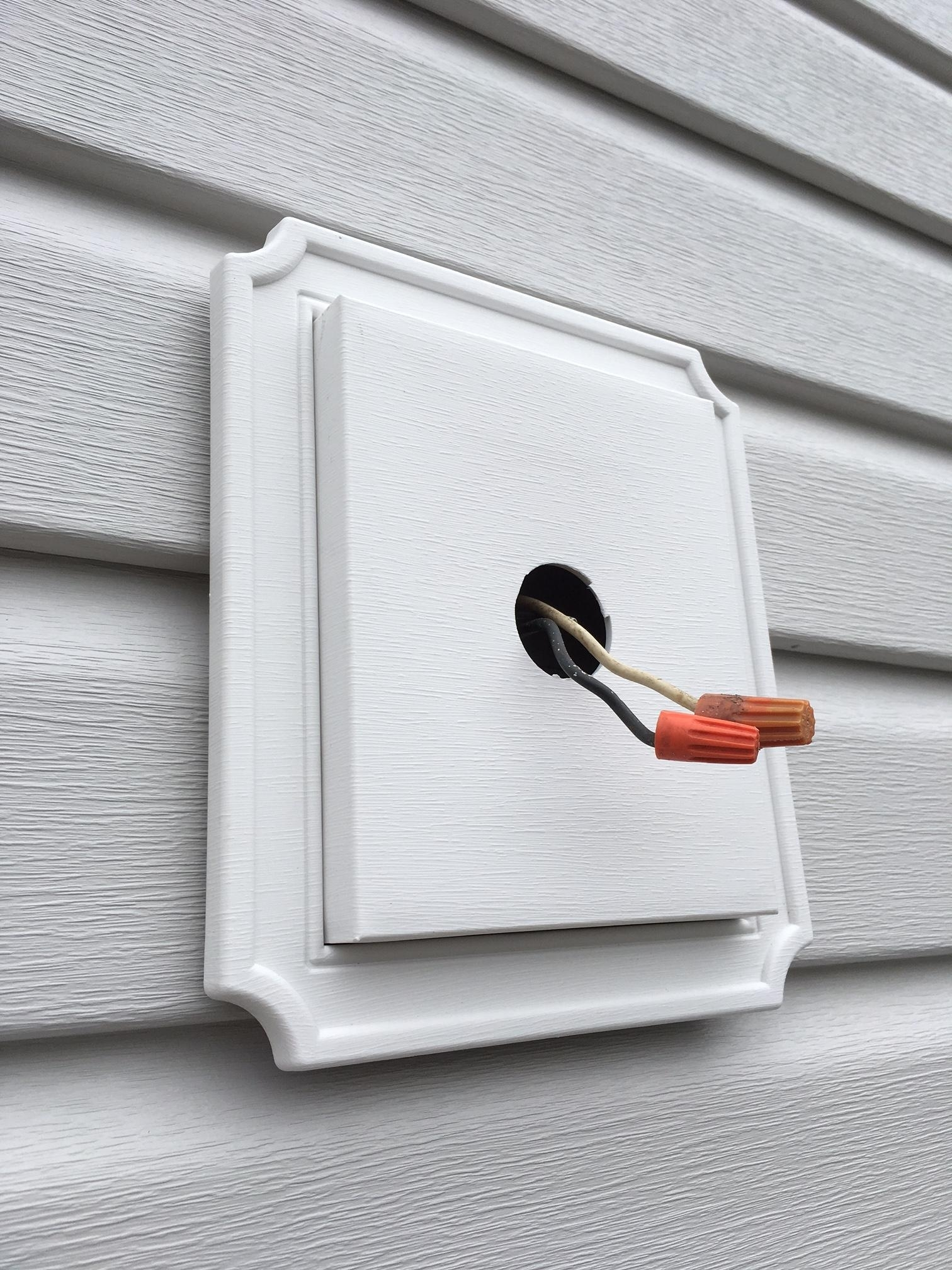 15 Photo Of Hanging Outdoor Lights On Vinyl Siding