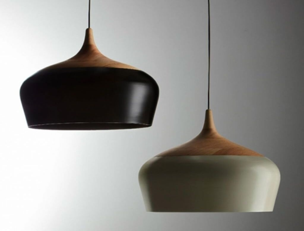 Lighting: Fascinating Black And White Mid Century Modern Pendant Within Modern Pendant Lighting Fixtures (#9 of 15)