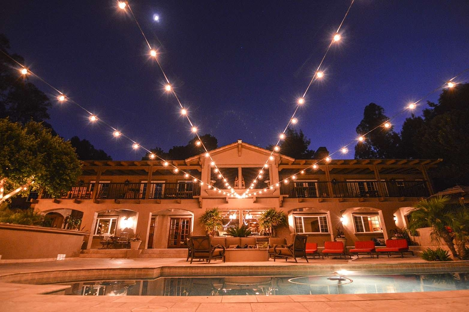 Lighting – Hanging Lights – Av Party Rental With Regard To Outdoor Hanging String Light Bulbs (#5 of 15)
