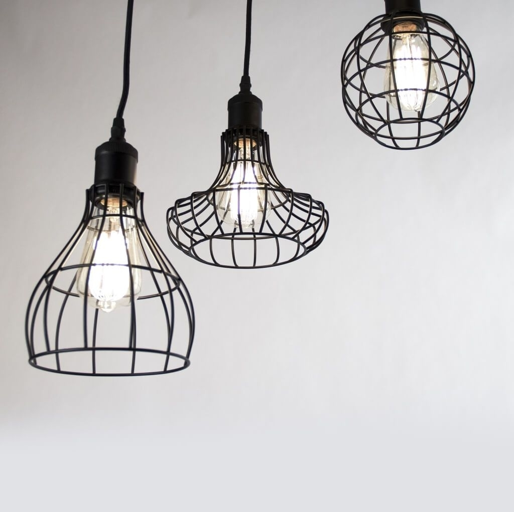 Lighting: Industrial Style Outdoor Hanging Pendant Light With 2 Throughout Industrial Outdoor Hanging Lights (View 9 of 15)