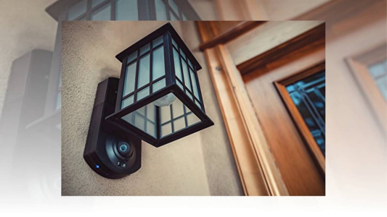 Lighting : Kuna Smart Home Security Outdoor Light Camera Craftsman Inside Outdoor Wall Lights With Security Camera (#7 of 15)