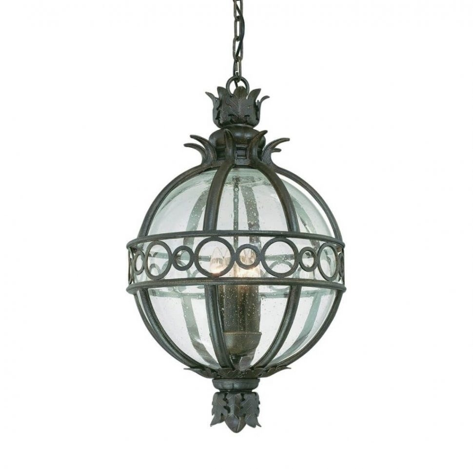 Lighting : Lighting Distinctive Globe Outdoor Pendant Light Design With Outdoor Hanging Globe Lights (View 4 of 15)
