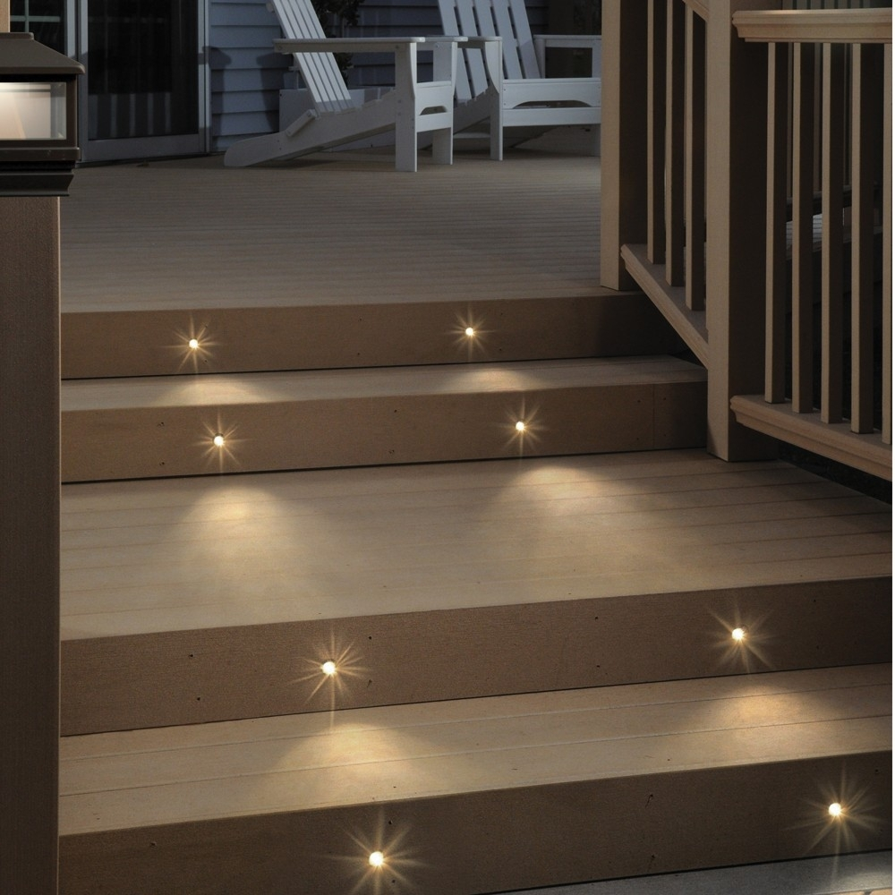 Lighting : Lighting Unforgettable Lowge Led Pictures Concept With Modern Low Voltage Deck Lighting At Home Depot (#9 of 15)