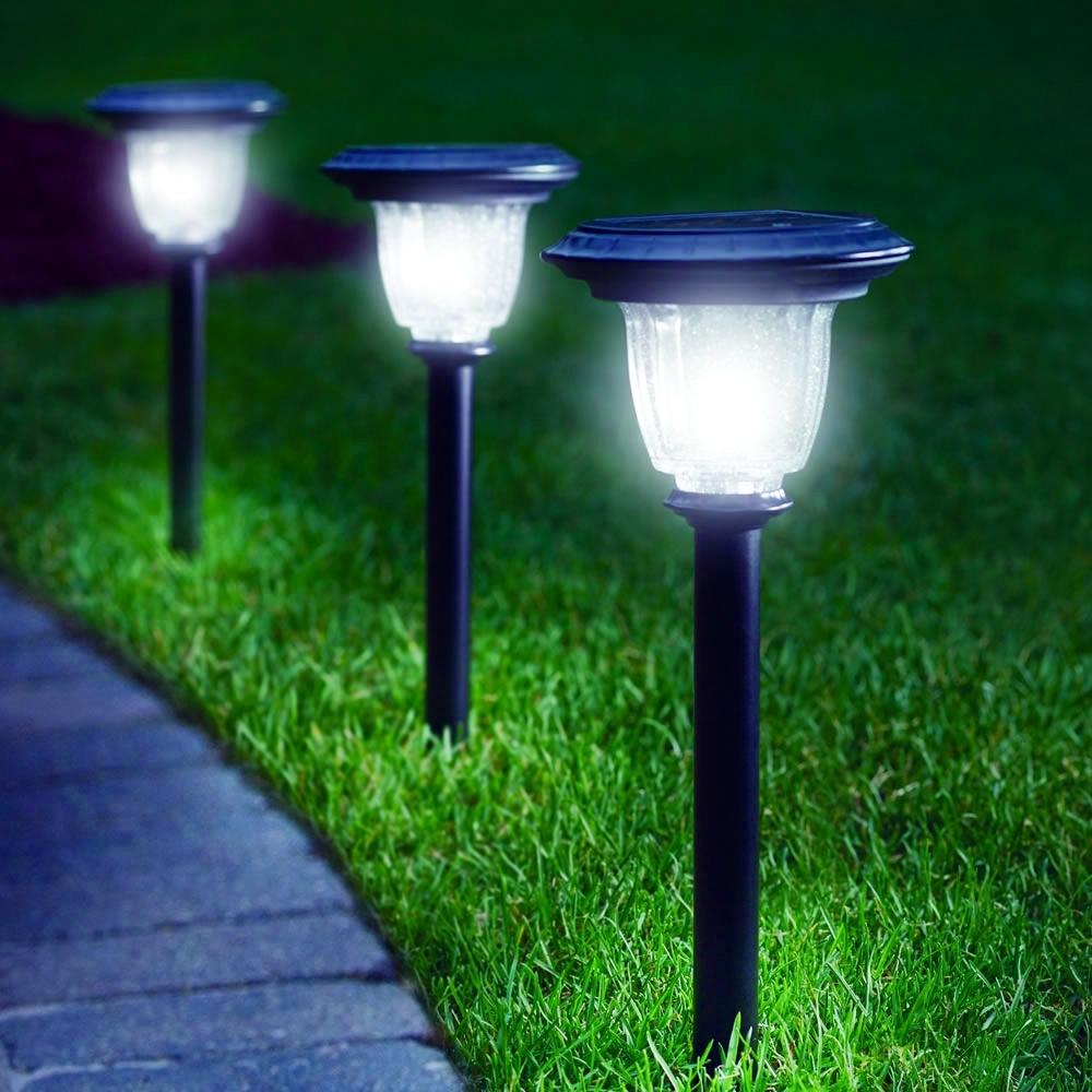 Lighting Lowes Solar Garden Lights Lowes Solar Lights Solar Within In Lowes Solar Garden Lights Fixtures (#4 of 15)