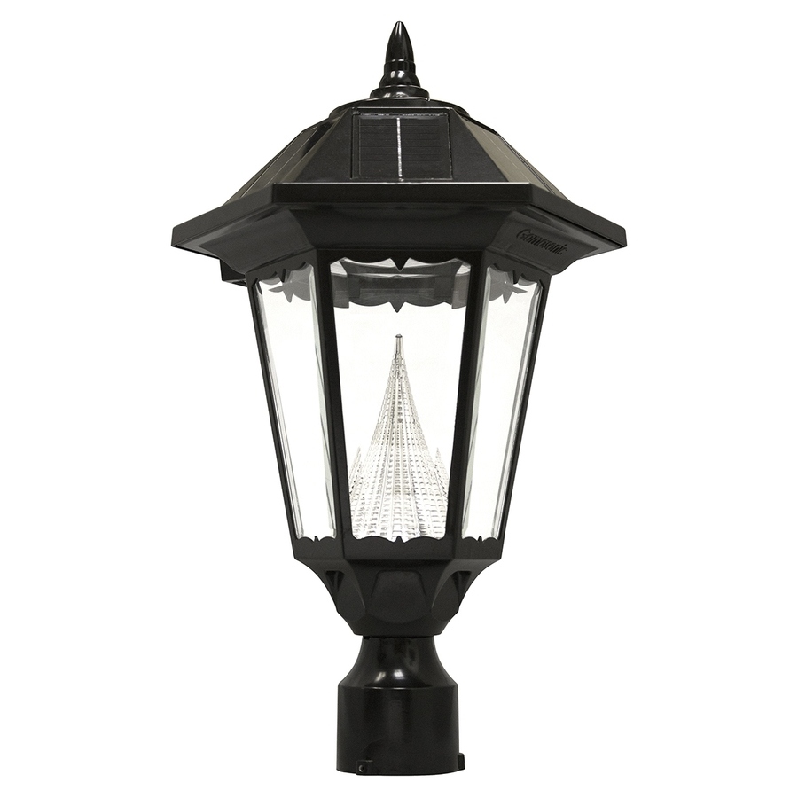 Lighting: Lowes Solar Lights For Your Pathway Or Patio Decoration Throughout Low Voltage Led Post Lights (#5 of 15)