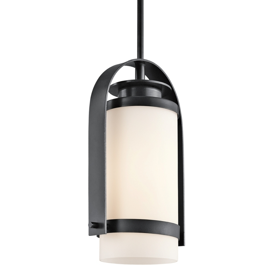 Lighting : Outdoor Ceiling Lighting The Home Depot Led Pendant Throughout Outdoor Led Ceiling Lights (View 15 of 15)
