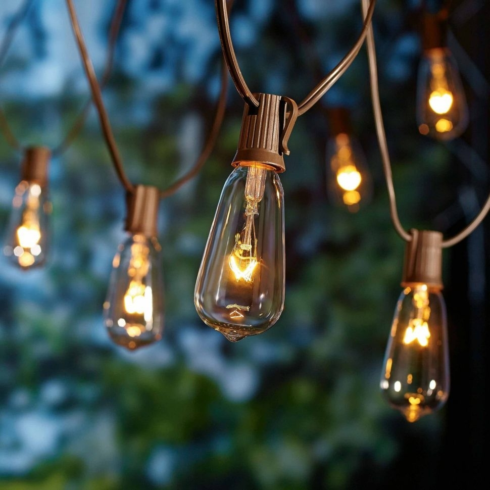 Lighting : Outdoor String Lights Ideas Target Threshold Hanging In Outdoor Hanging Lights At Target (View 6 of 15)