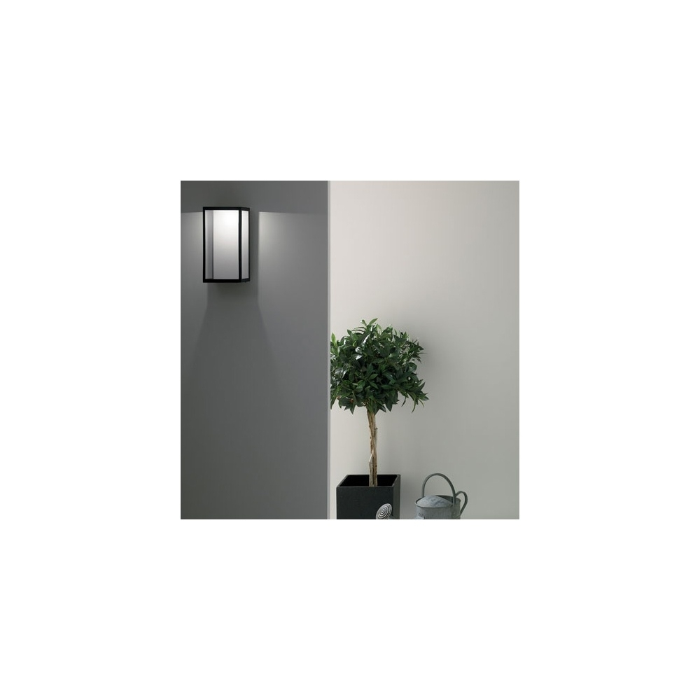 Lighting Puzzle 0931 Black Outdoor Wall Light Within Black Outdoor Led Wall Lights (#10 of 15)