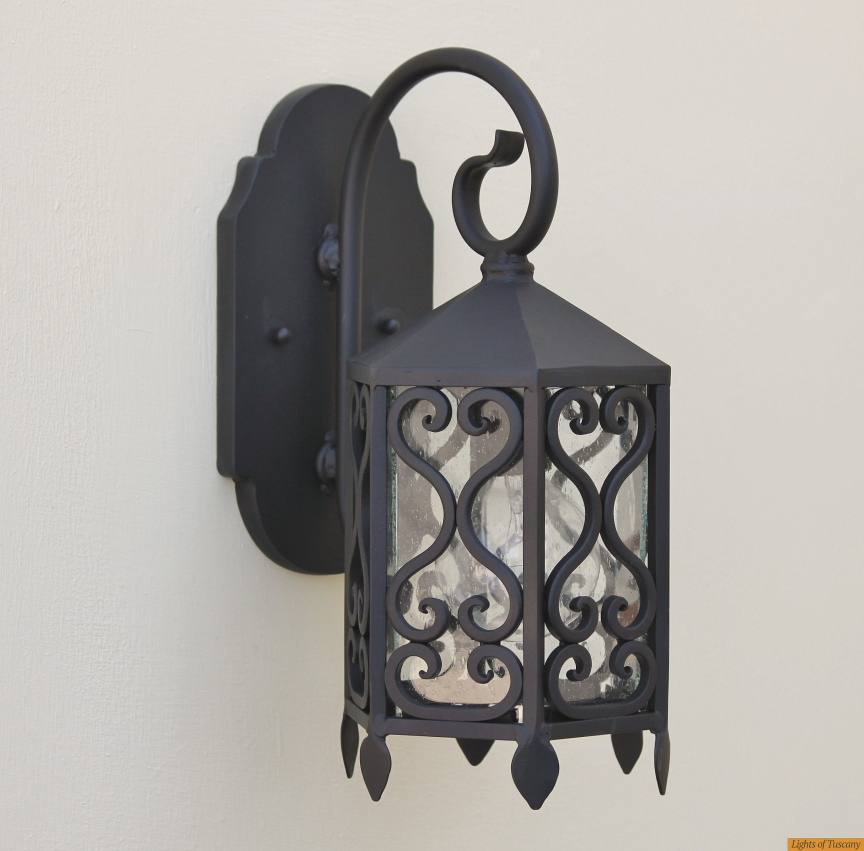 Lights Of Tuscany 7077 1 Tuscan Wall Sconce/outdoor Lighting Throughout Tuscan Outdoor Wall Lighting (#5 of 15)