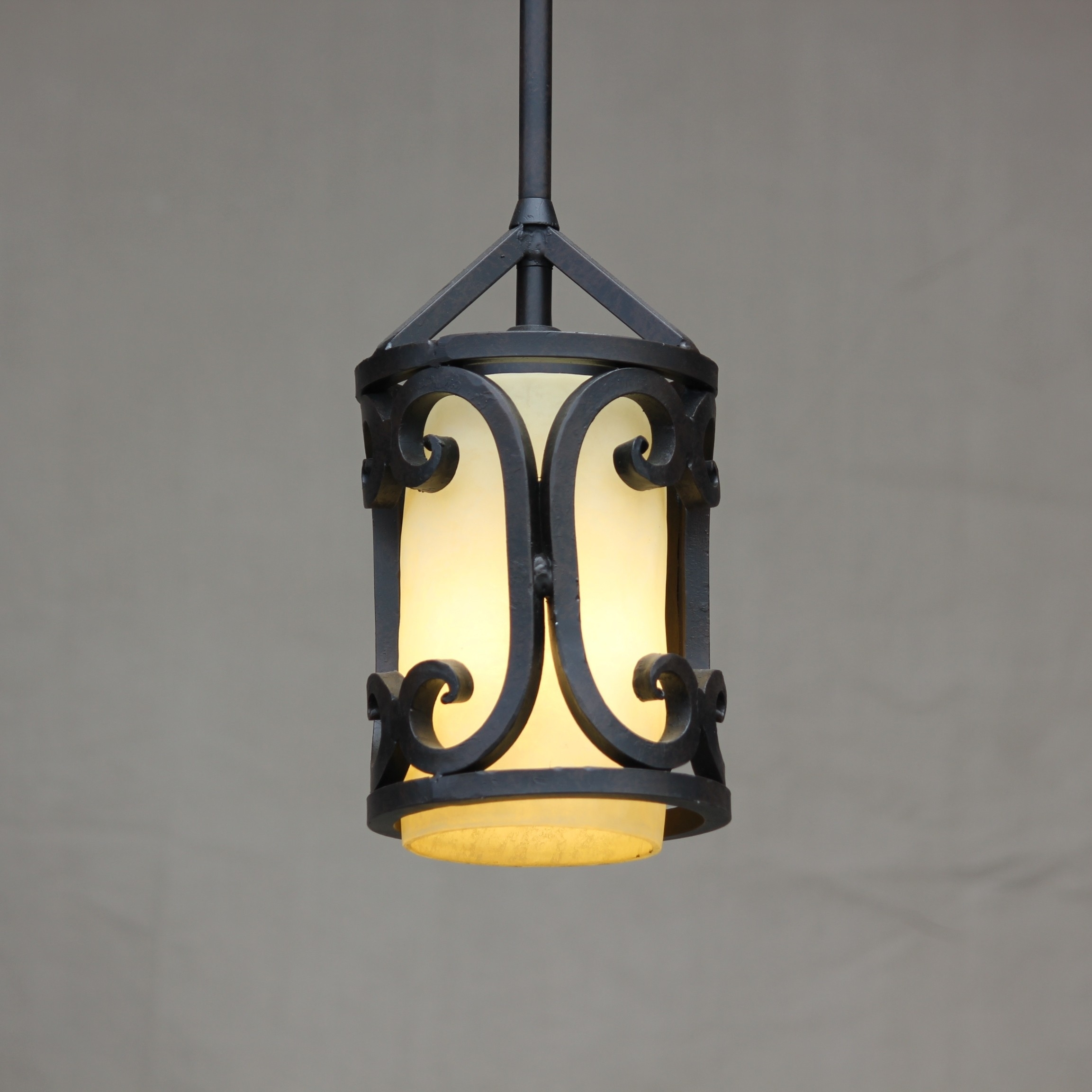 Lights Of Tuscany Mini Pendant Lighting – Ceiling Fixtures – Fixtures With Outdoor Iron Hanging Lights (#4 of 10)