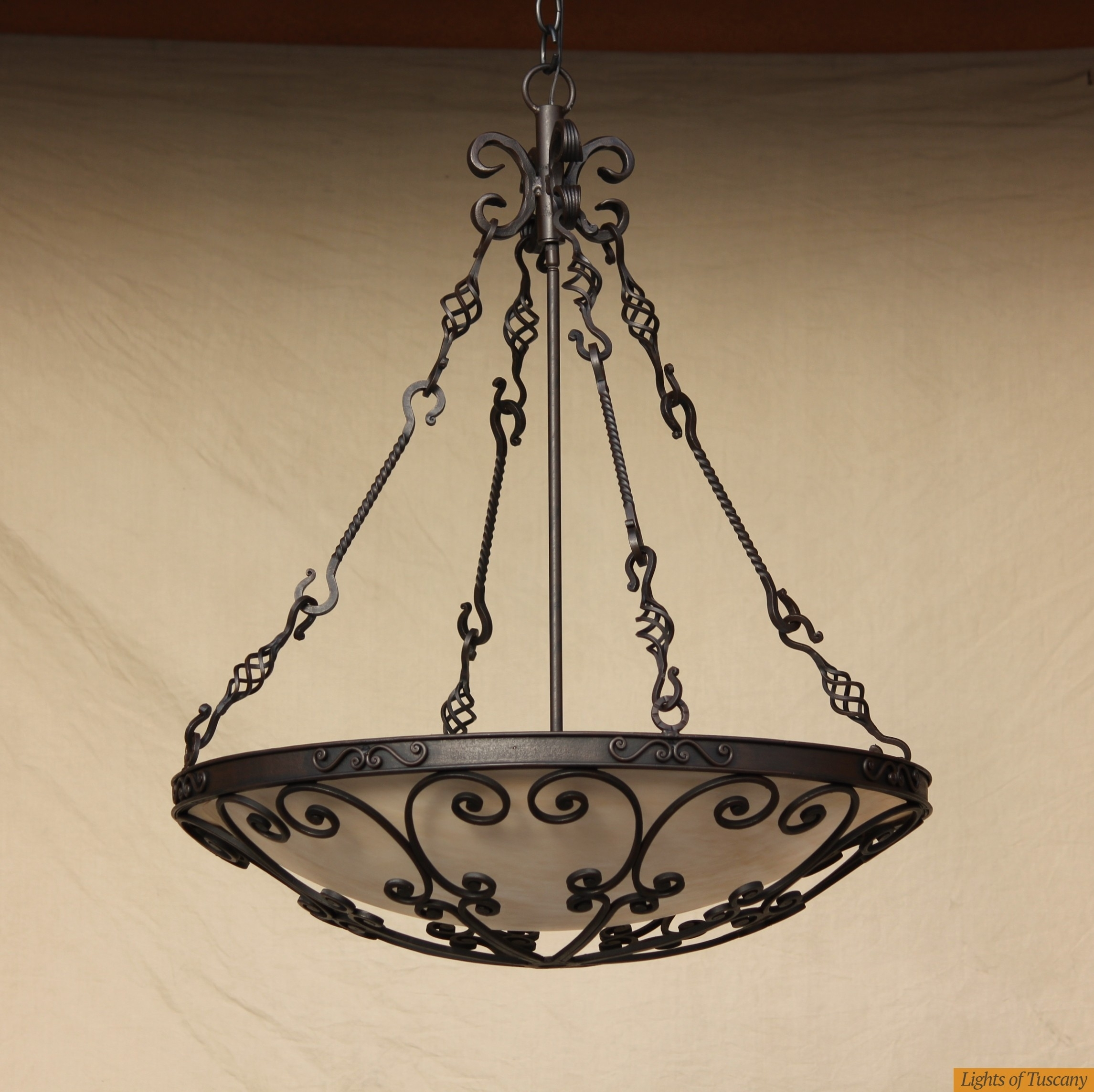 Lights Of Tuscany Outdoor/exterior Wall Lighting Outdoor  Living Pertaining To Outdoor Iron Hanging Lights (#5 of 10)