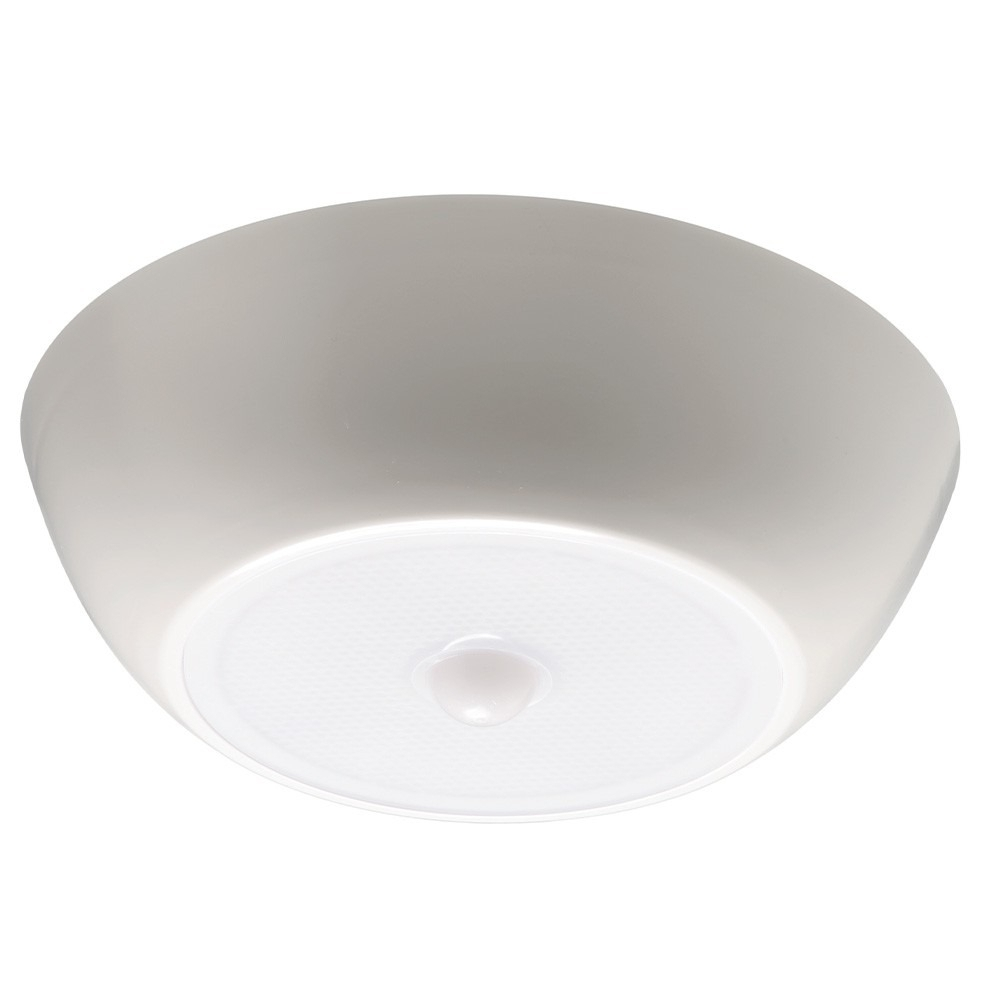 Lithonia Lighting White Outdoor Integrated Led Decorative Flush In Outdoor Ceiling Lights At B&q (#11 of 15)