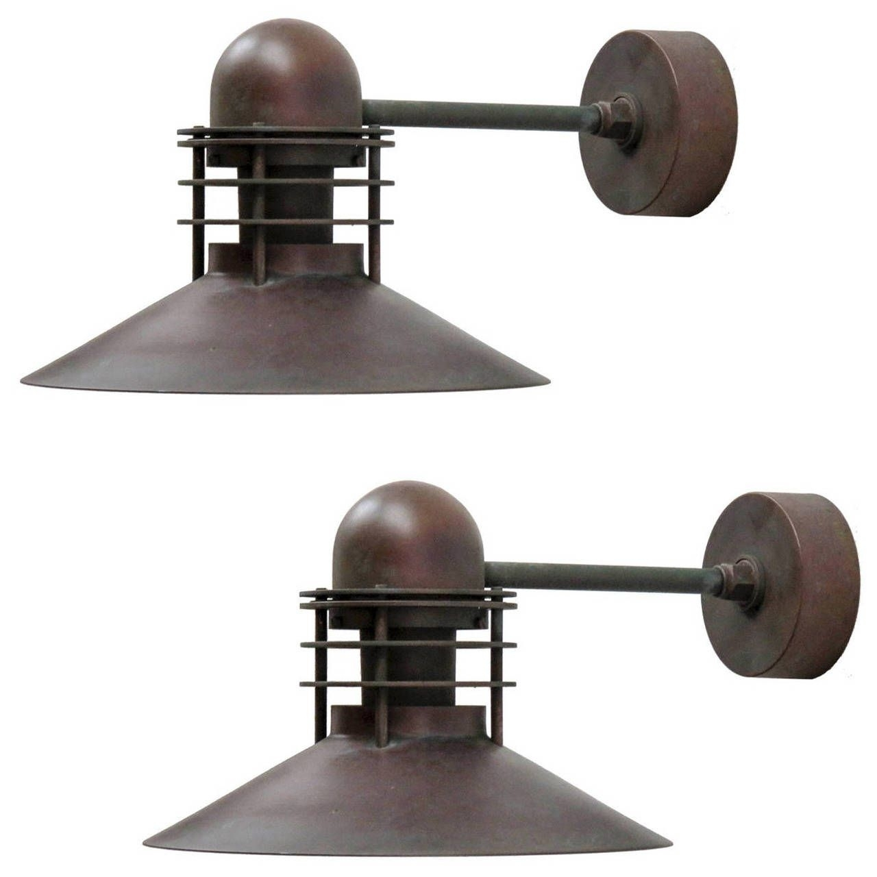 Louis Poulsen Copper Outdoor Lamps | Modern Wall, Lights And Modern Inside Beach Outdoor Wall Lighting (#9 of 15)