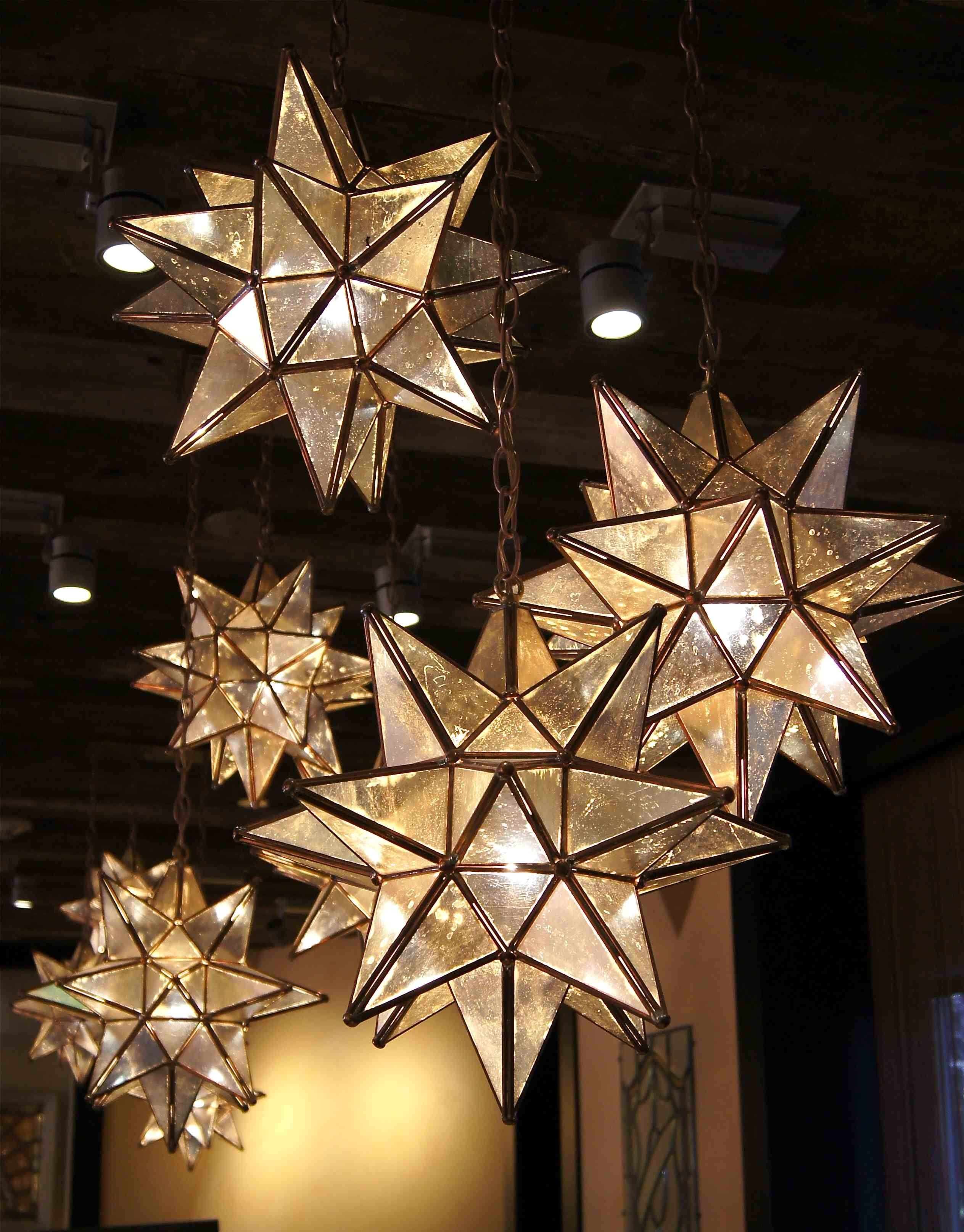 Love These!!! Moravian Star Pendants Are Here For The Beautification For Outdoor Hanging Lights For Christmas (#12 of 15)
