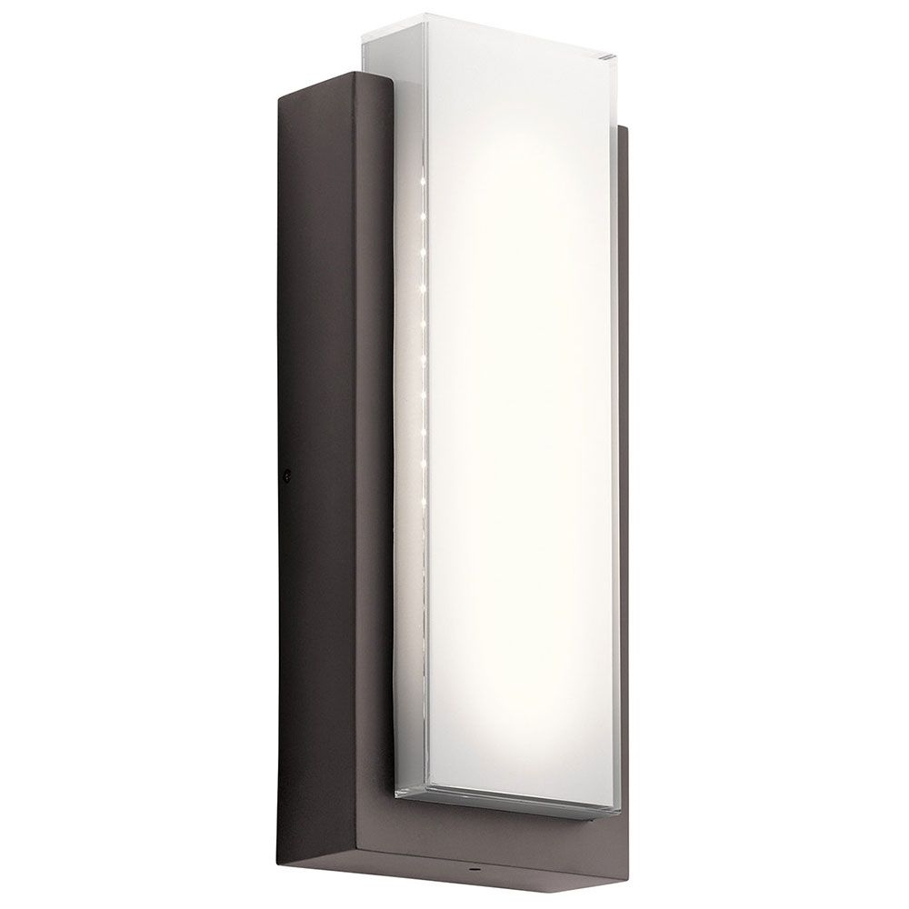 Low Profile Led Wall Sconce   Contemporary Outdoor Lighting, Outdoor With Modern And Contemporary Outdoor Lighting Sconces (View 7 of 15)