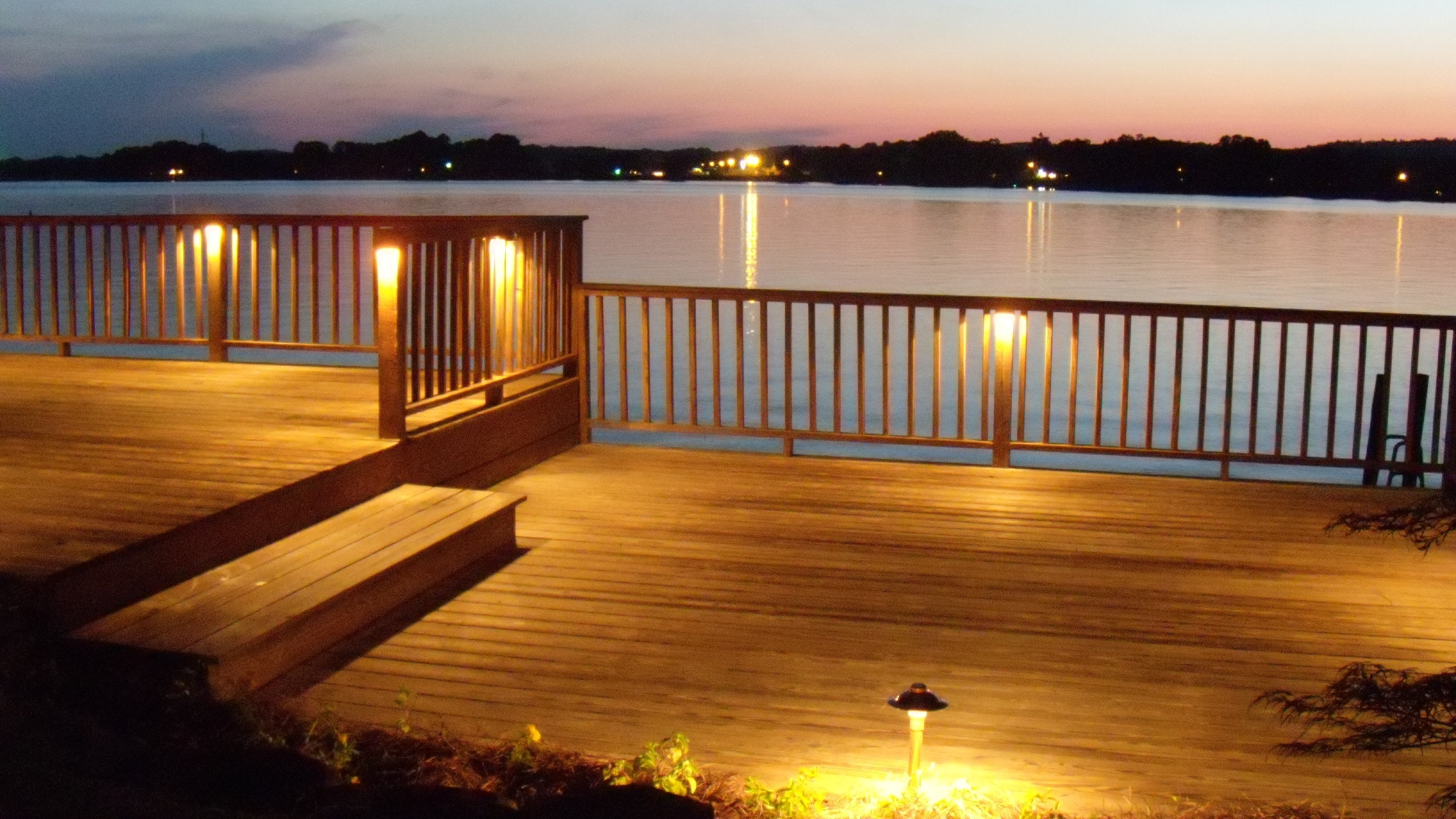 Low Voltage Led Deck Inspirations With Post Lights Pictures With Low Voltage Led Post Lights (#8 of 15)