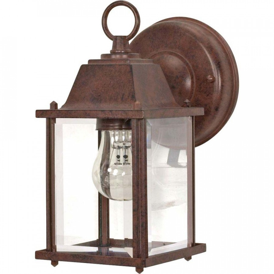 Low Voltage Outdoor Wall Sconce For Low Voltage Outdoor Wall Lights (#11 of 15)