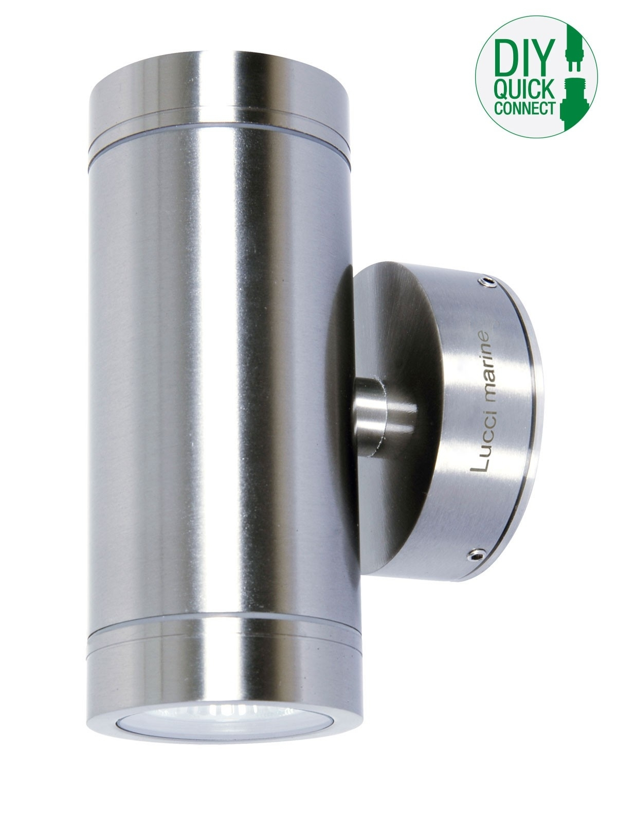 Lucci Marine Exterior Up/down Wall Bracket In Marine Grade Stainless In Marine Grade Outdoor Wall Lights (#8 of 15)