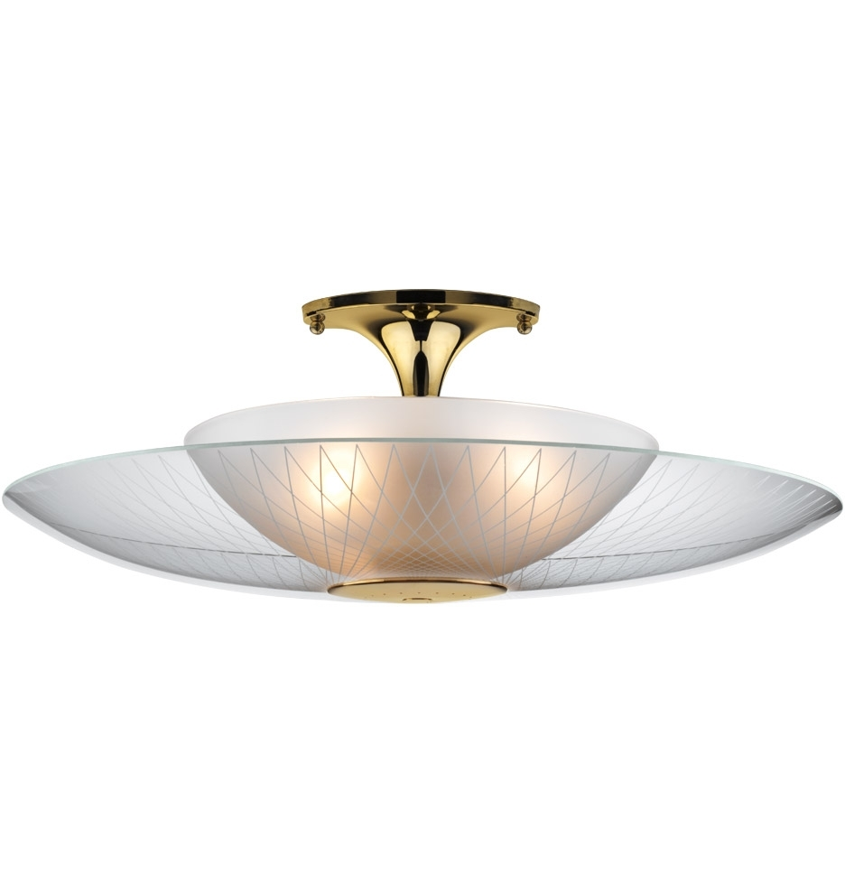 Luna Semi Flush Mount | Rejuvenation With Regard To Outdoor Semi Flush Ceiling Lights (View 15 of 15)