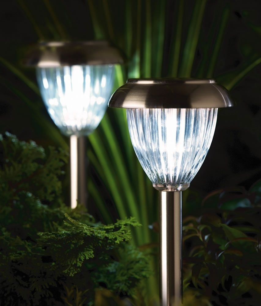 Luxform Solar Garden Lights | Best Solar Lights For Garden Within Solar Outdoor Lighting (#8 of 15)