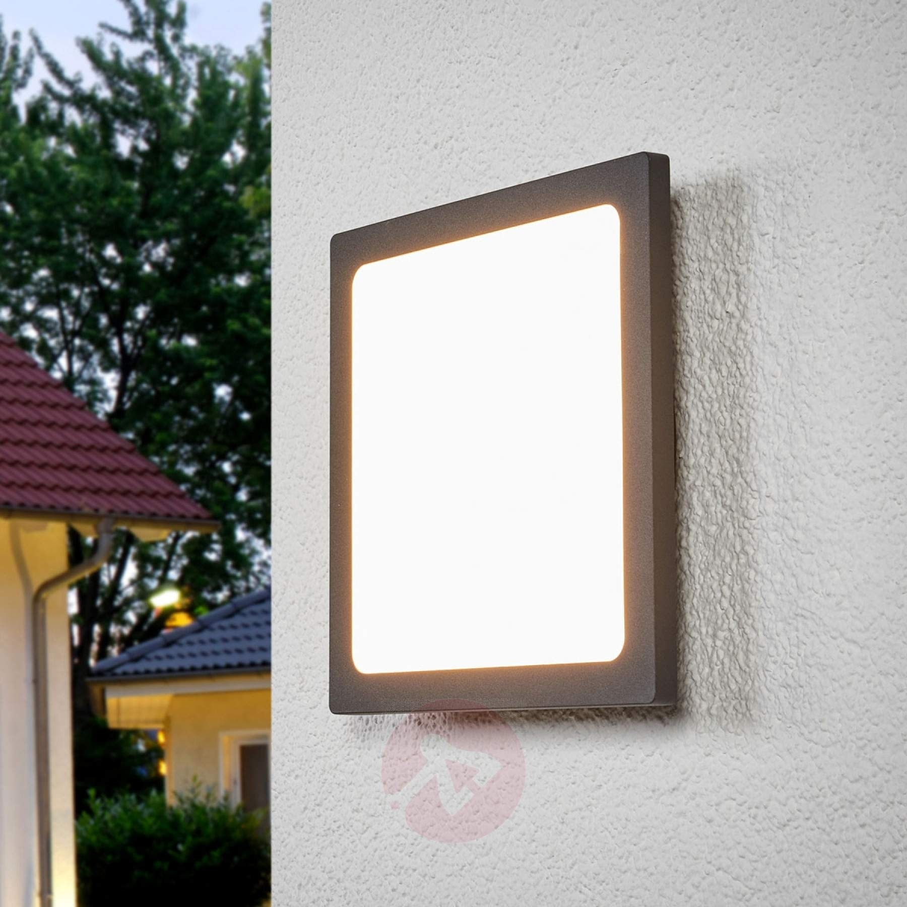 Mabella Led Outdoor Ceiling Lamp With Sensor | Lights (#7 of 15)
