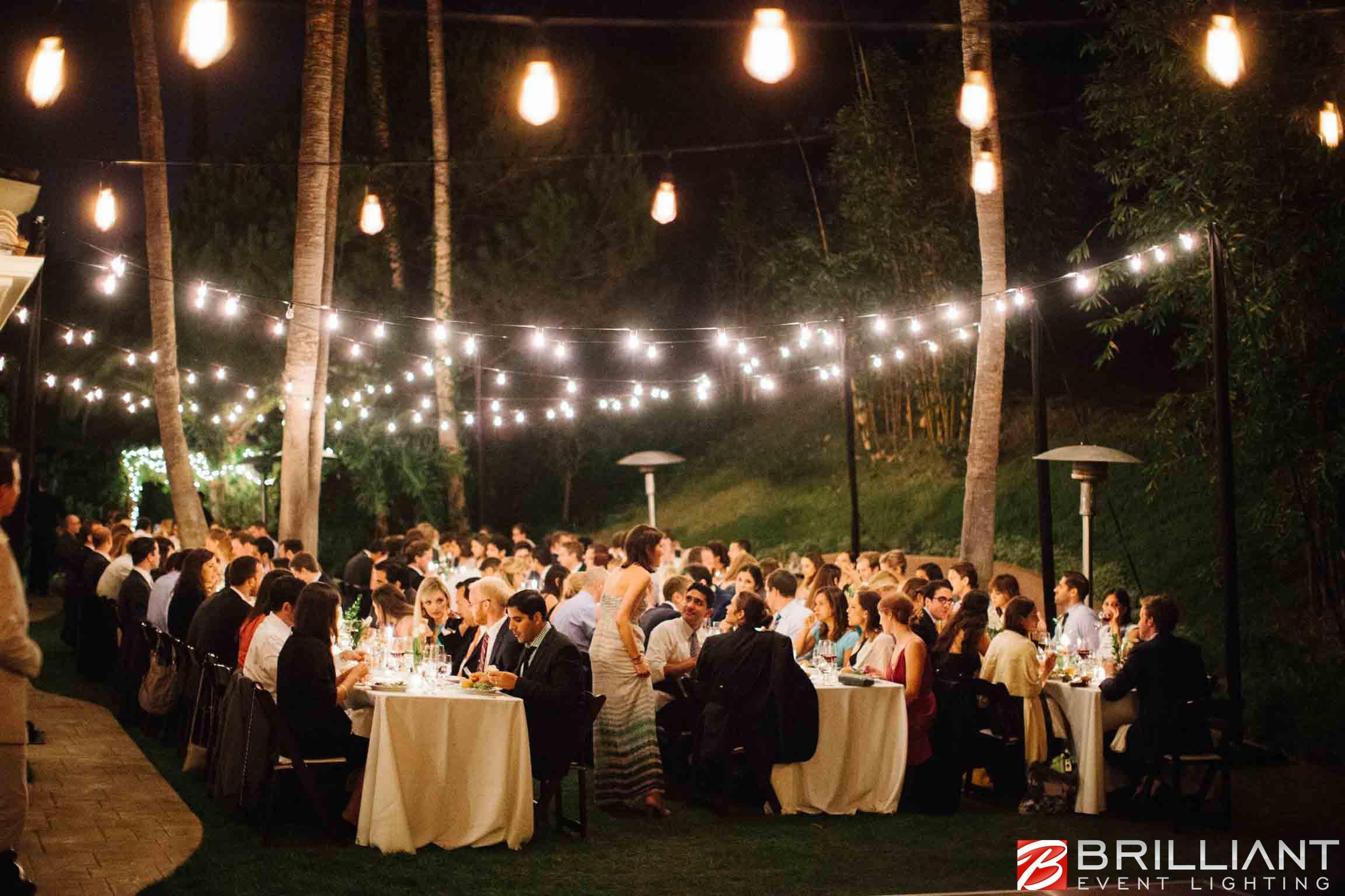 Inspiration about Market Lights, Party, Globe & Patio String Lights Outdoor Throughout Hanging Lights For Outdoor Wedding (#1 of 15)