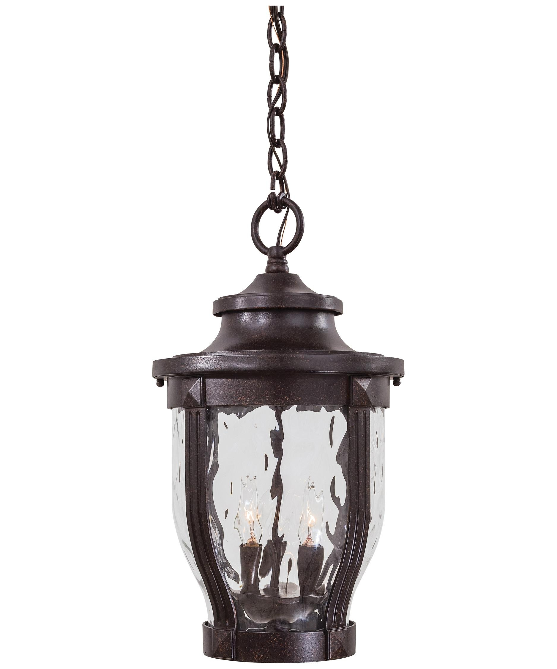 Minka Lavery 8764 Merrimack 10 Inch Wide 3 Light Outdoor Hanging Pertaining To Outdoor Entryway Hanging Lights (#11 of 15)