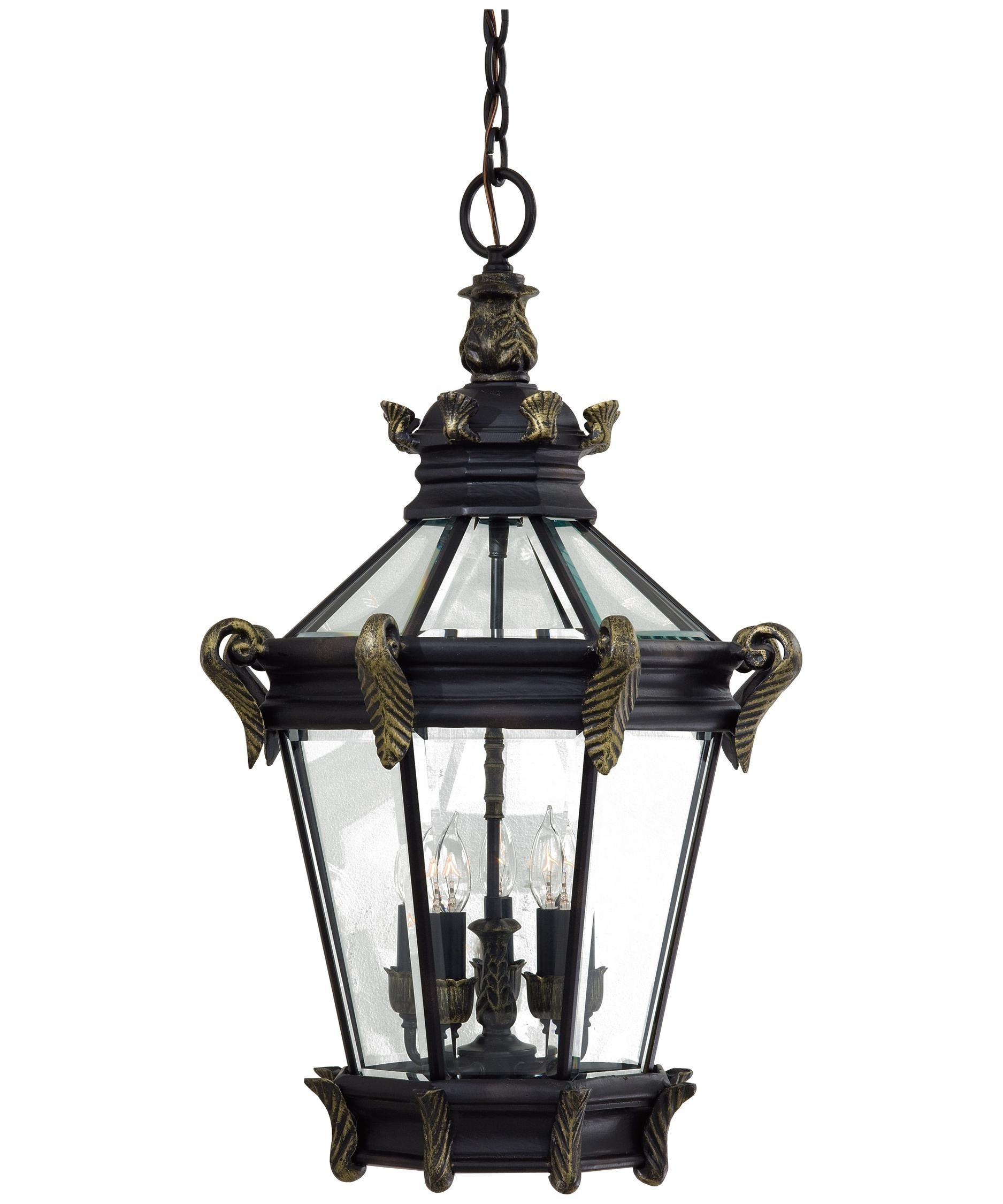 Minka Lavery 8934 Stratford Hall 19 Inch Wide 5 Light Outdoor Pertaining To Outdoor Hanging Patio Lanterns (View 8 of 15)