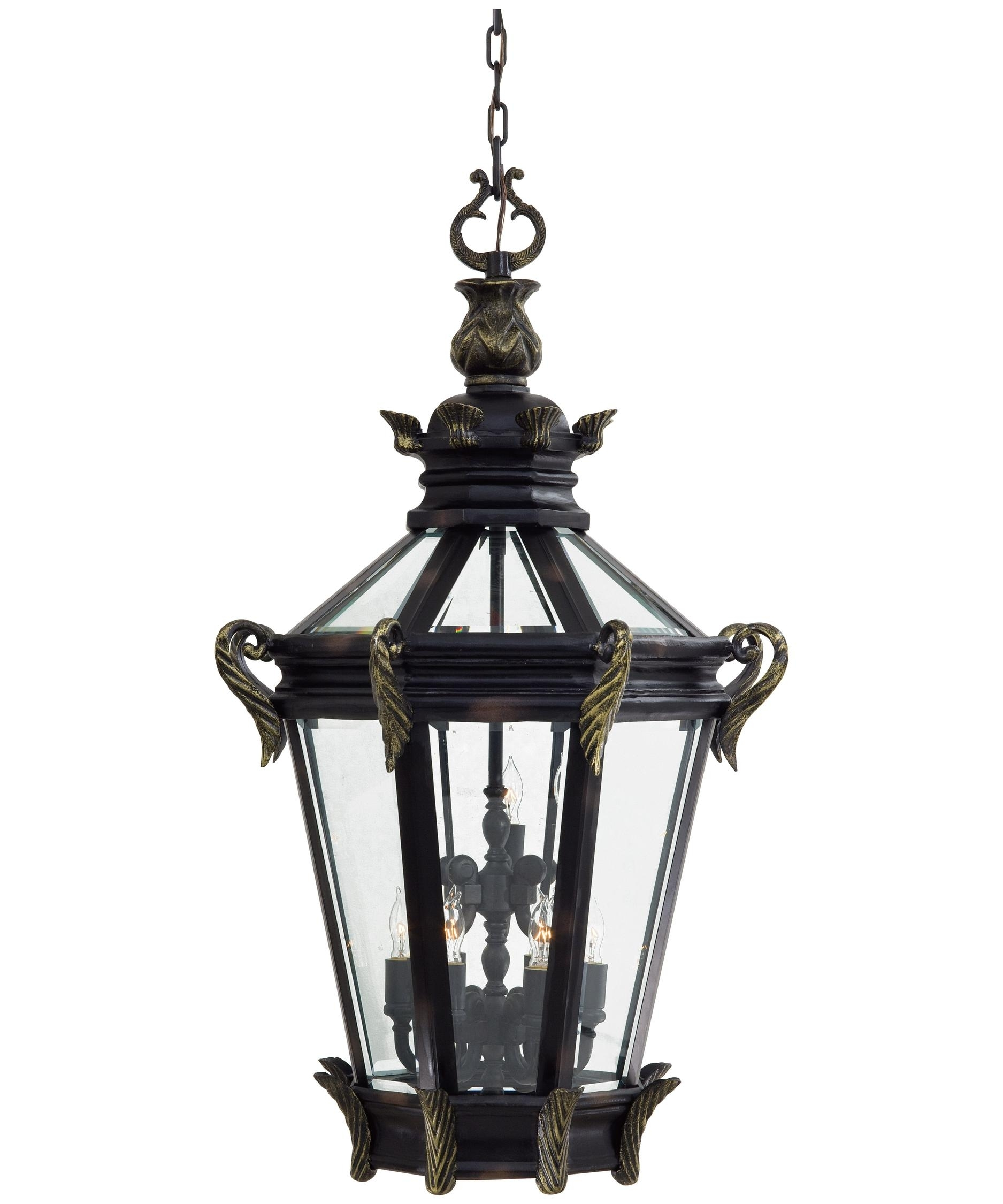 Inspiration about Minka Lavery 9094 Stratford Hall 28 Inch Wide 9 Light Outdoor Regarding Large Outdoor Hanging Lights (#4 of 15)