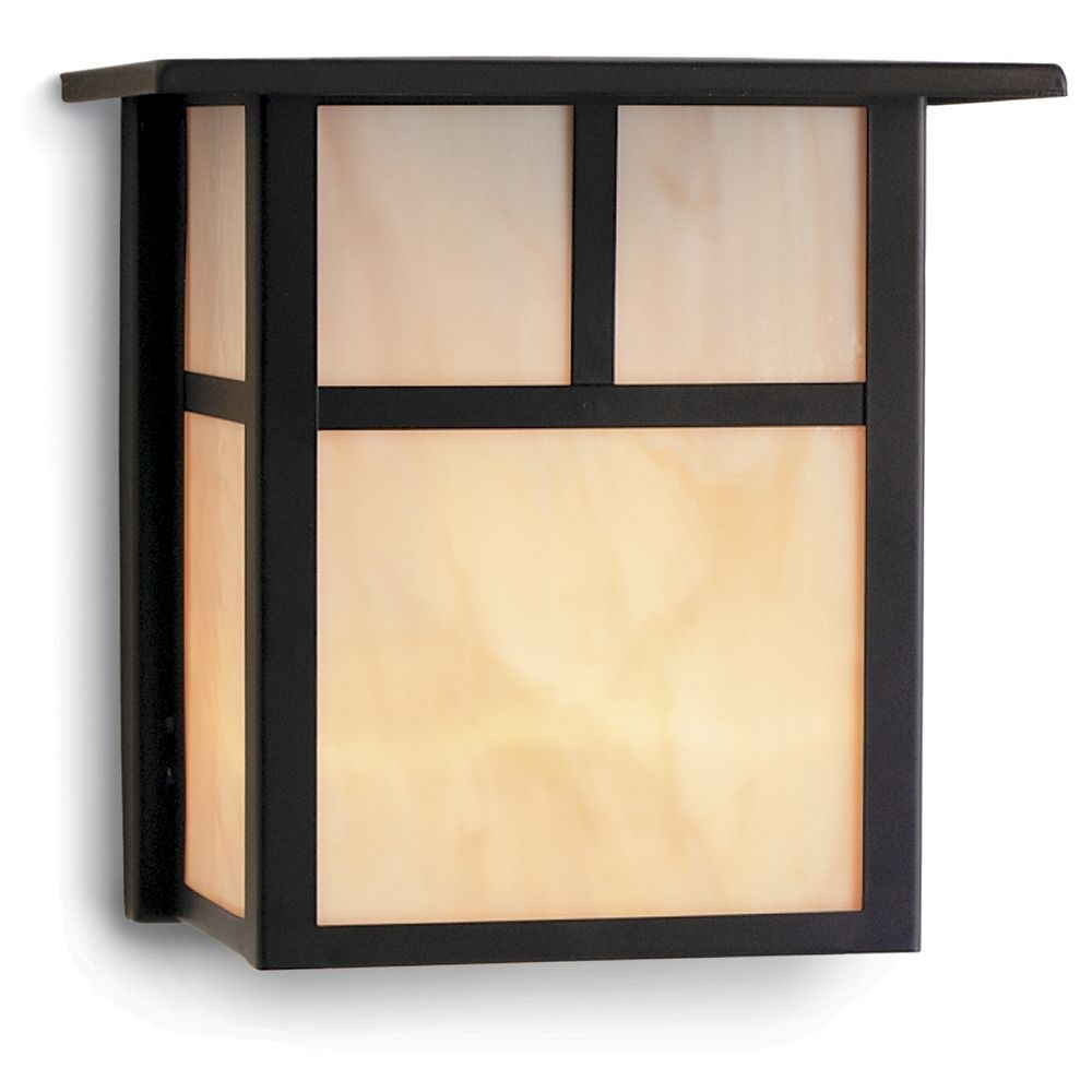 Mission Style Lighting Fresh Craftsman Style Outdoor Wall Light In Inside Mission Style Outdoor Wall Lighting (#12 of 15)