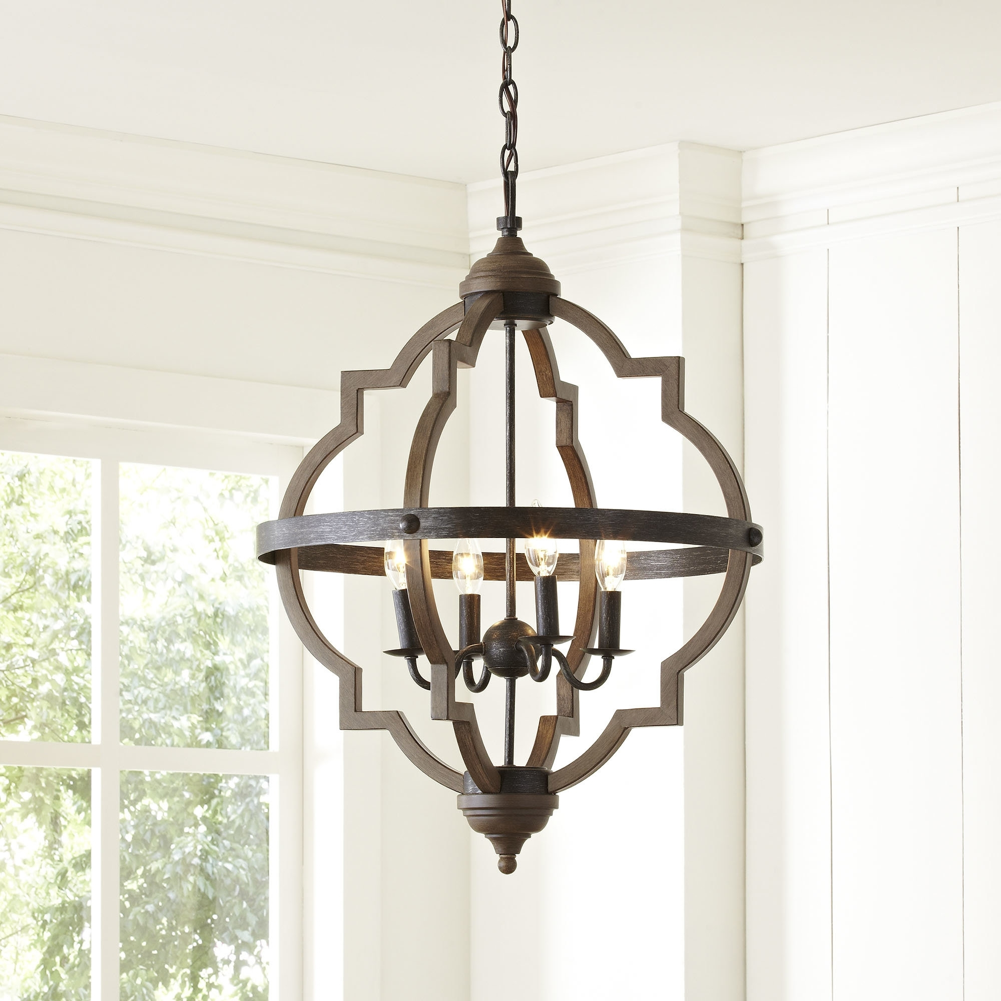 Mobile Chandelier | Wayfair Pertaining To Contemporary Outdoor String Lights At Wayfair (#9 of 15)