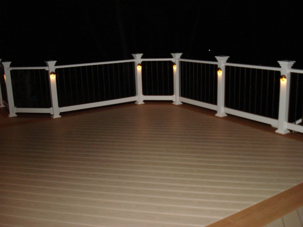 Modern Deck Lighting Ideas — Jbeedesigns Outdoor : Deck Lighting Inside Modern Low Voltage Deck Lighting (View 15 of 15)