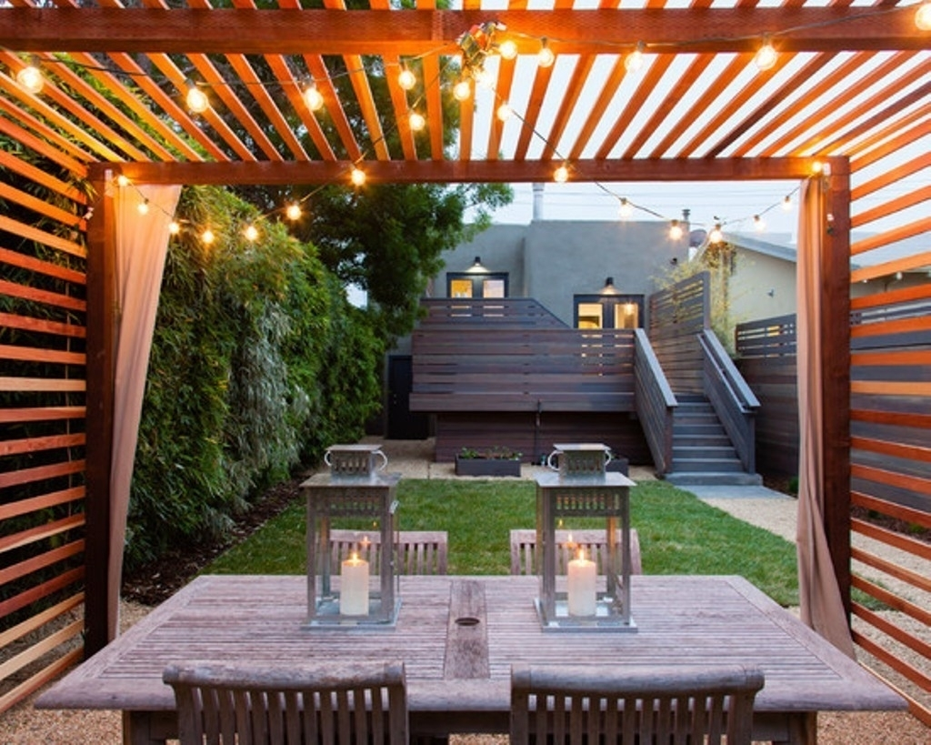 Modern Home Ideas With Perfect Outdoor String Lights For Stylish Regarding Modern Outdoor String Lights (#7 of 15)
