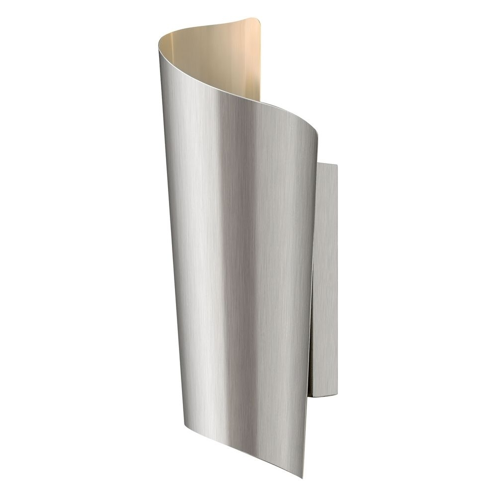 Modern Led Outdoor Wall Light In Stainless Steel Finish | 2350Ss With Regard To Modern Outdoor Wall Lighting (#10 of 15)