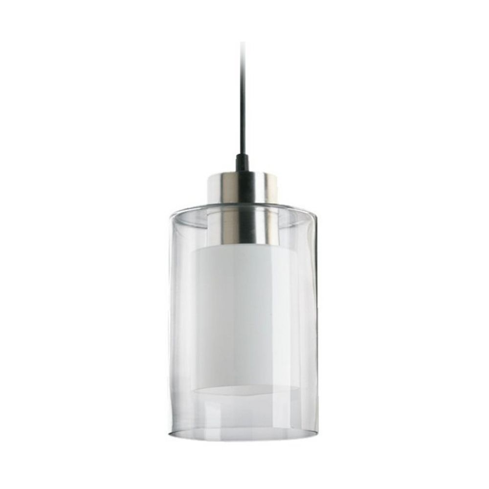 Modern Mini Pendant Light With Double Cylinder Glass Shades   Mini For Modern Outdoor Pendant Cylinder Lighting Fixtures (#14 of 15)