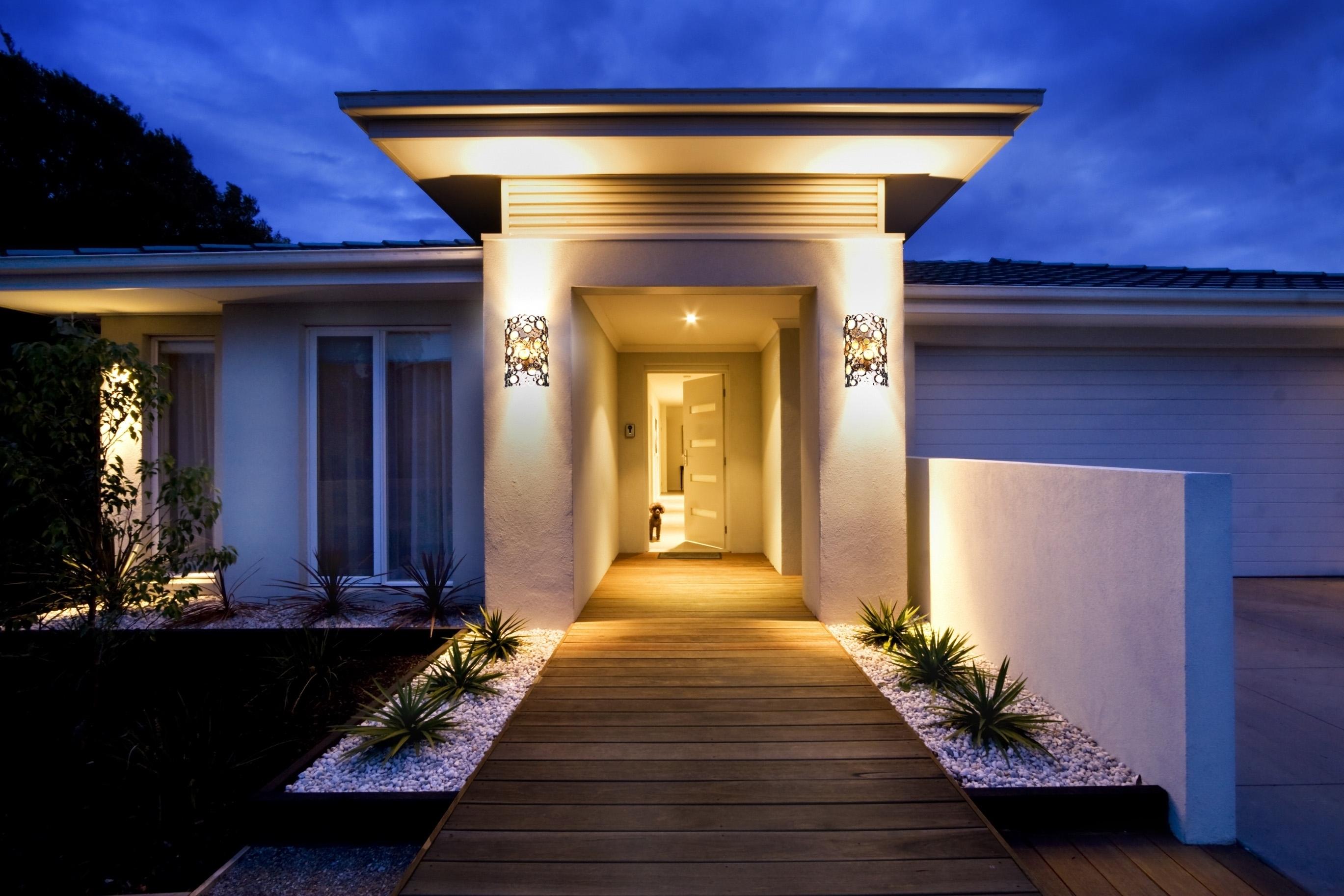 Modern Outdoor Lighting Fixture Design Ideas Youtube Bedroom With Regard To Modern Outdoor Lighting (#13 of 15)