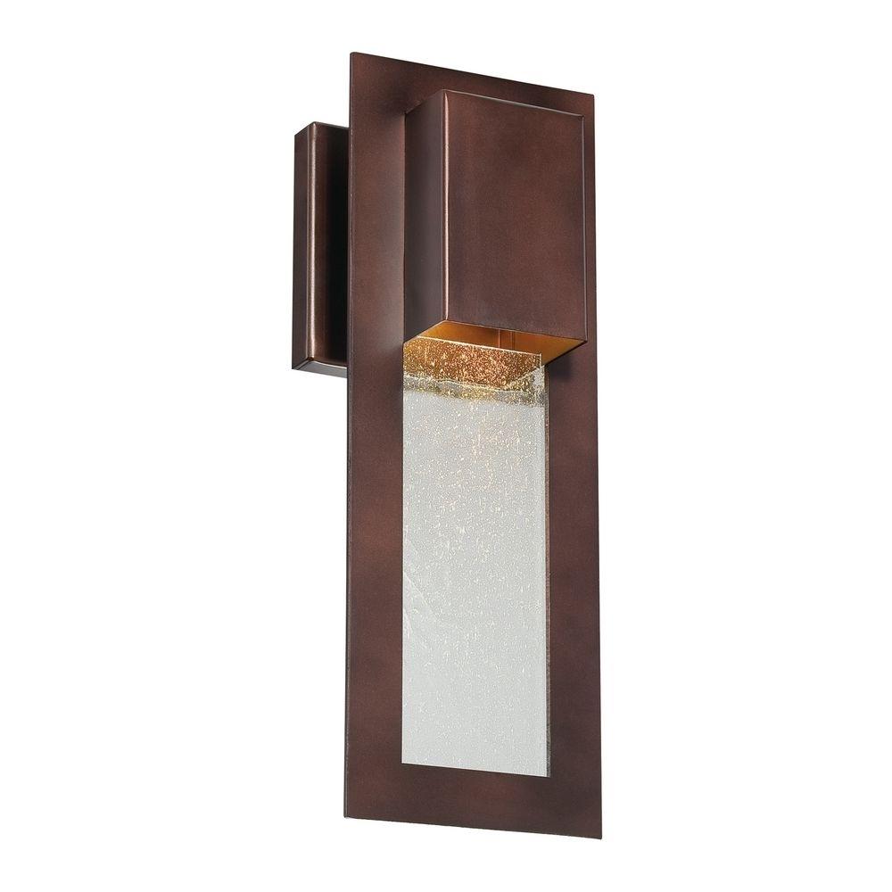 Modern Outdoor Wall Light In Bronze | 72381 246 | Destination Lighting Inside Bronze Outdoor Wall Lighting (#12 of 15)